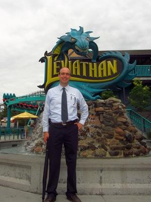 Peter Switzer vor Leviathan