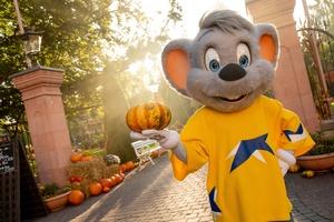 Ed Euromaus freut sich auf die Halloween-Saison im Europa-Park