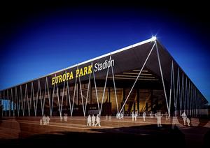 Visualisierung Europa-Park Stadion