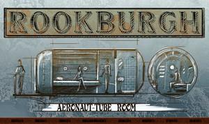 Ein einzigartiges Hotel für die Themenwelt Rookburgh