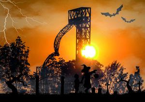 Familien-Halloween im Skyline Park Gruselspaß für Klein und Groß