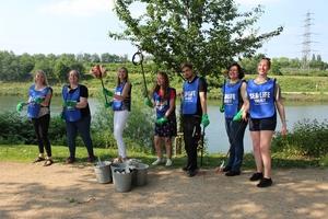 SEA LIFE Oberhausen: Uferreinigung zum Weltumwelttag