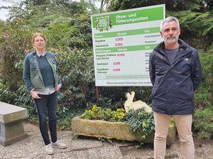 Mit Abstand startet der Weltvogelpark mit vielen Gästen in die Saison
