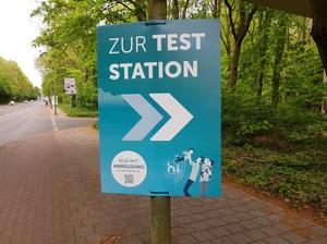 Zoo Duisburg: Externes Corona-Schnelltestzentrum hat Betrieb aufgenommen