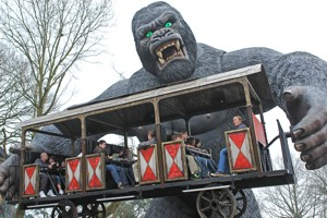 King Kong im Bobbejaanland