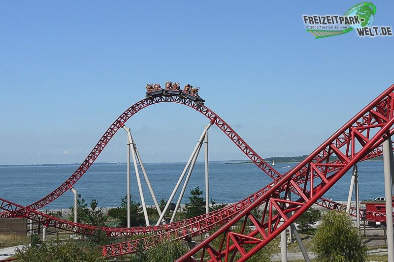 Maverick im Cedar Point - 2009