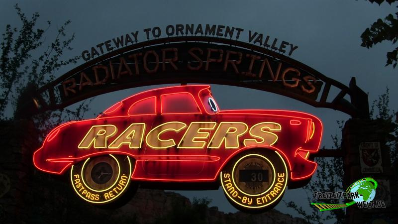 Radiator Springs Racers - Disney California Adventure