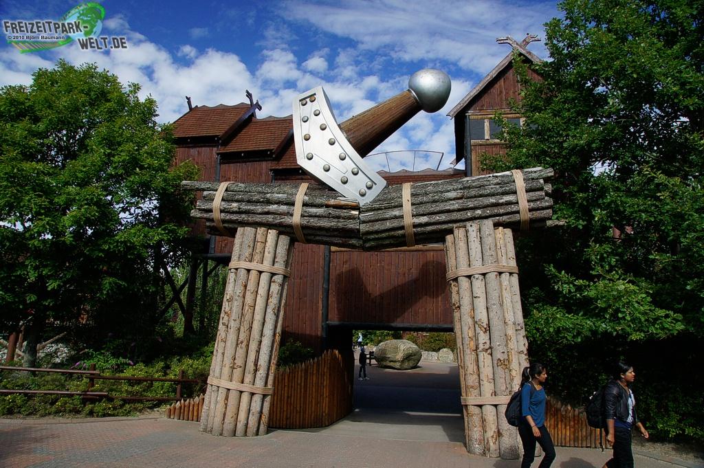 thor 39 s hammer djurs sommerland freizeitpark. Black Bedroom Furniture Sets. Home Design Ideas