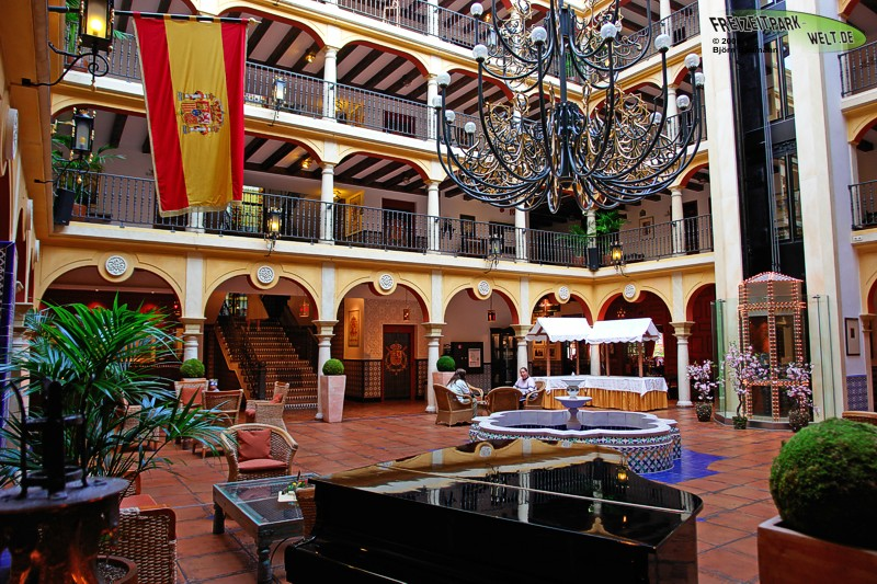 foto galerie hotel el andaluz hotel el andaluz europa park. Black Bedroom Furniture Sets. Home Design Ideas