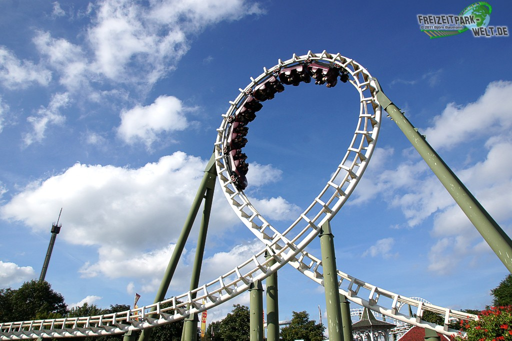 Big Loop Heide Park Resort Freizeitpark Weltde