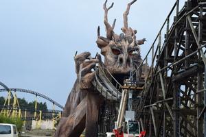 Colossos im Heide Park: Die letzten Schienen sind gelegt!