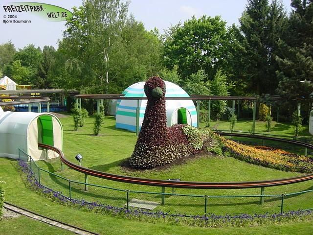 Top Liste aller Attraktionen mit Größencheck - Holiday Park  YA15