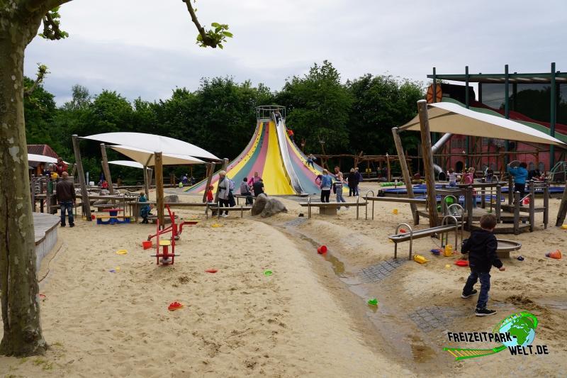 Wasser-Sandspielplatz - 2015