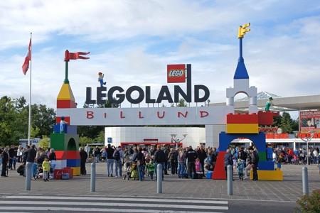 Eingang zum LEGOLAND Billund