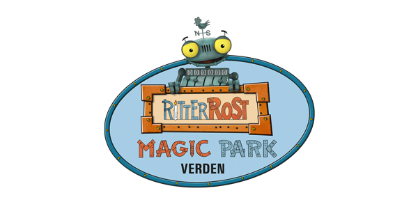 Ritter Rost Magic Park Verden Logo