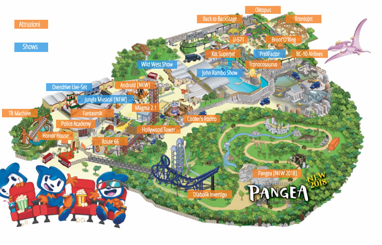 parkmaps parkplan movieland park freizeitpark. Black Bedroom Furniture Sets. Home Design Ideas
