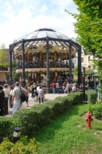 Alt Berliner Dampfkarussel