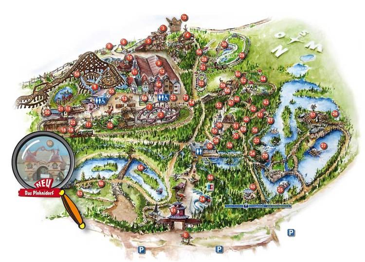 Phantasialand Karte.Gewinnspiele Phantasialand