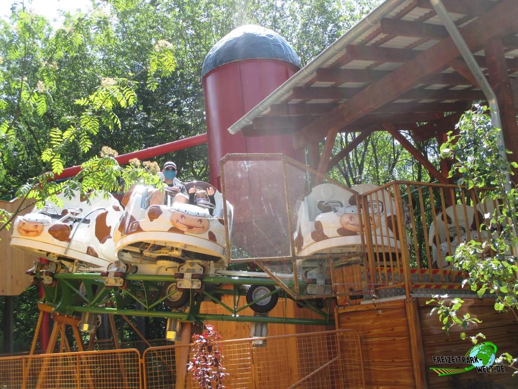 Kuhddel Muuuhddel im Taunus Wunderland - 2020: Kuhddel-Muuuddel, der neue Spinning Coaster