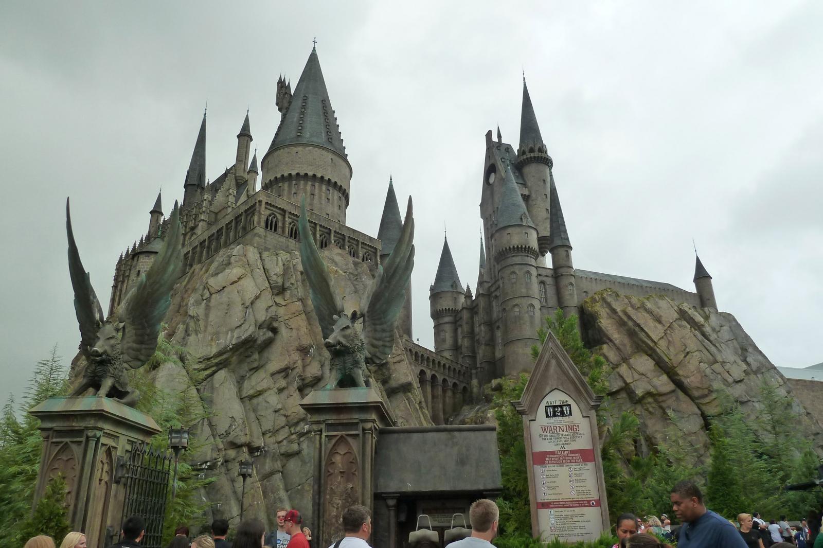 Harry Potter And The Forbidden Journey Universal S Islands Of Adventure Freizeitpark Welt De