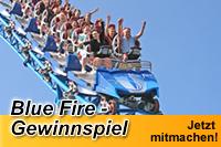 Blue Fire Gewinnspiel