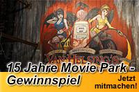 15 Jahre Movie Park - Gewinnspiel