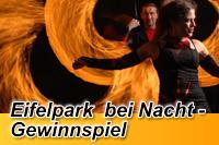 Gewinnspiel Eifelpark bei Nacht