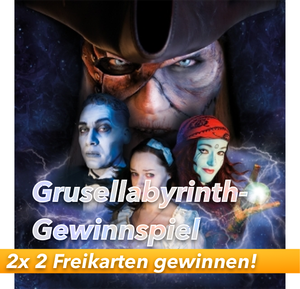 Neue Grusellabyrinth-Saison gestartet: 2x 2 Karten gewinnen!