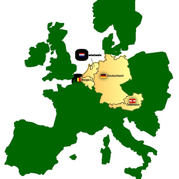 Hallenspielplätze in Europa