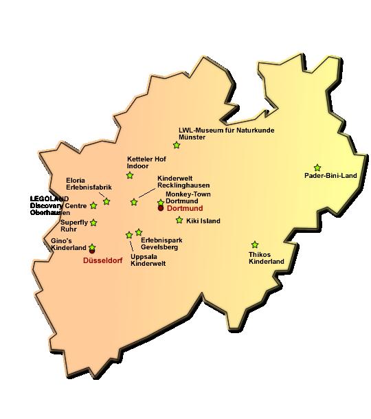 Hallenspielplätze in NRW