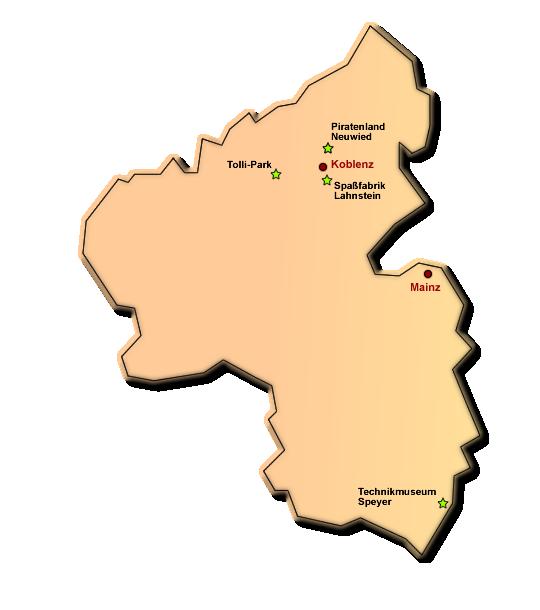 Hallenspielplätze in Rheinland Pfalz