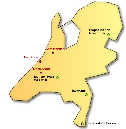 Hallenspielplätze in den Niederlanden