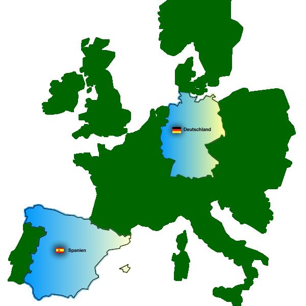 Wasserparks in Europa