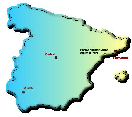 Wasserparks in Spanien