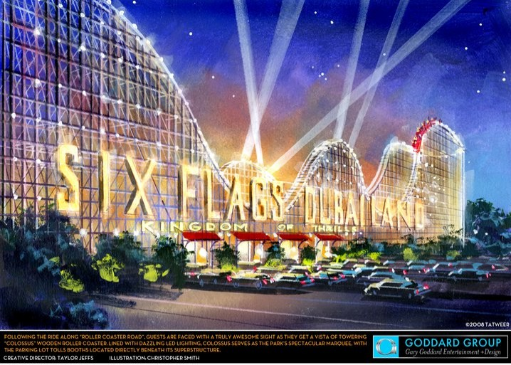 Six Flags DUbailand Konzept