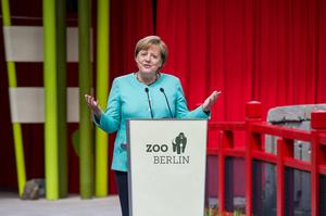 Er�ffnung des Panda Garden im Zoo Berlin