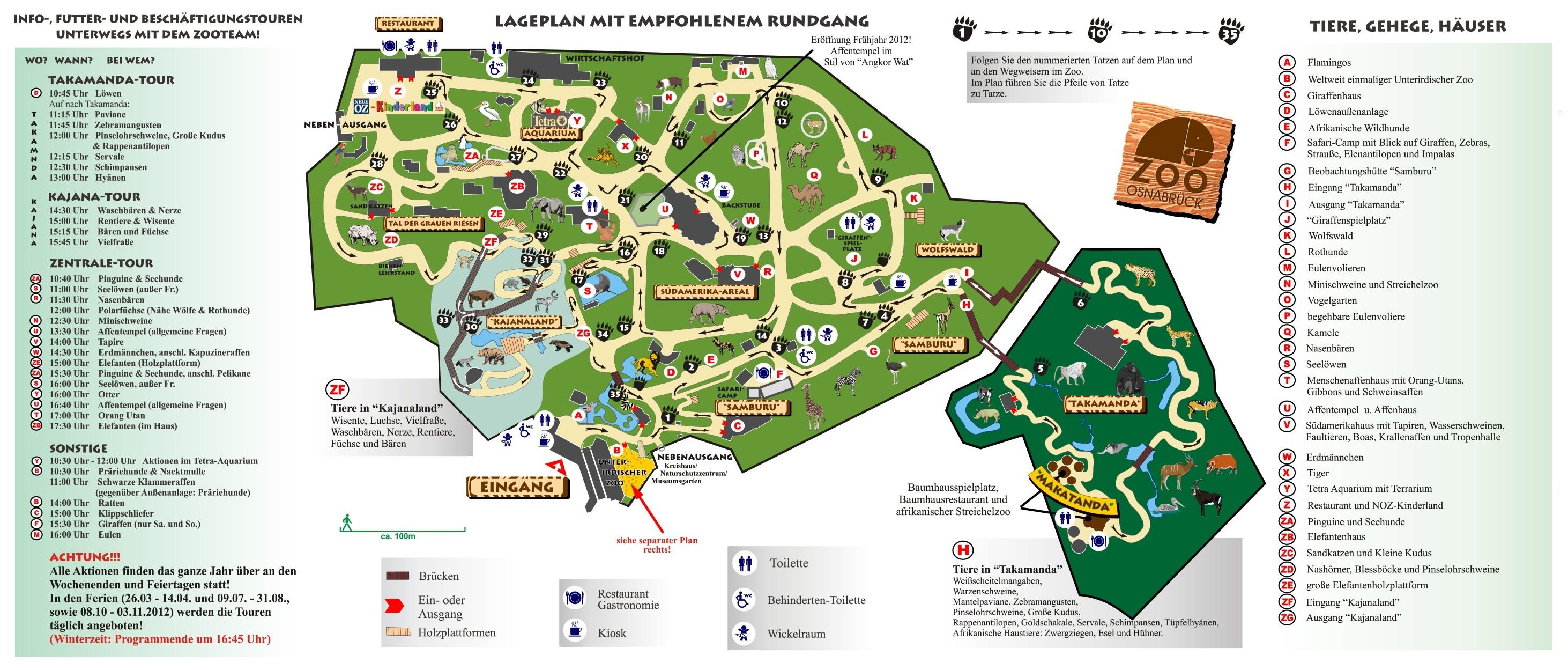 parkmaps parkplan zoo osnabr ck freizeitpark. Black Bedroom Furniture Sets. Home Design Ideas